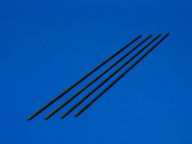 GS3-2104 2mmx210mm Carbon Fiber Flybar (4pcs)