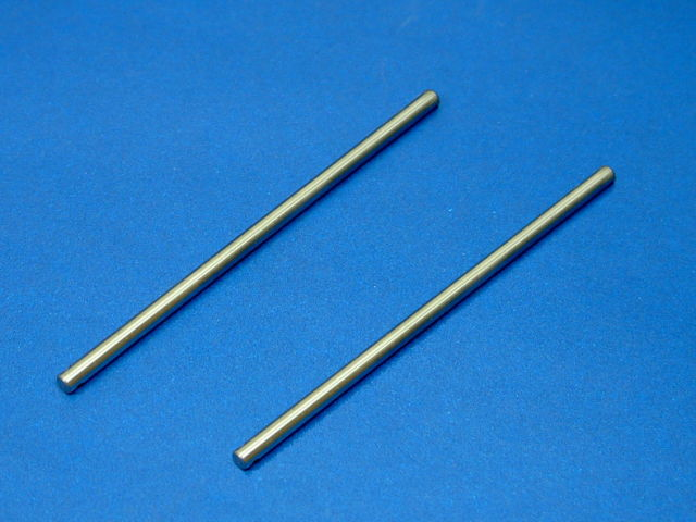 GS3-2110 3mmx80mm Stainless Steel Shaft (2pcs)