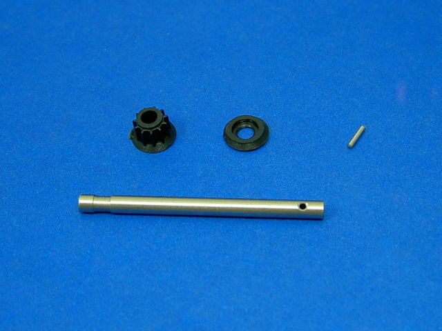 GS3-2408 Frame Parts (Tail Shaft with 11T Gear)