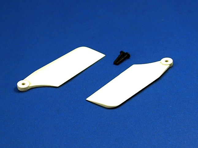 GS3-2410W Frame Parts (Tail Blade Set [54mm White])