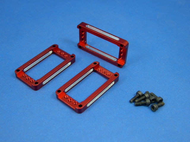 GS3-6202C Radon CNC Servo Mount (Red)