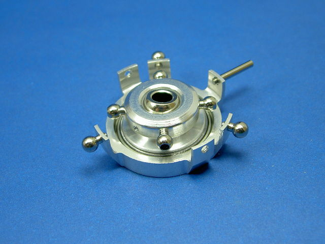 GS3-6203 CNC Swashplate (Silver 5mm)