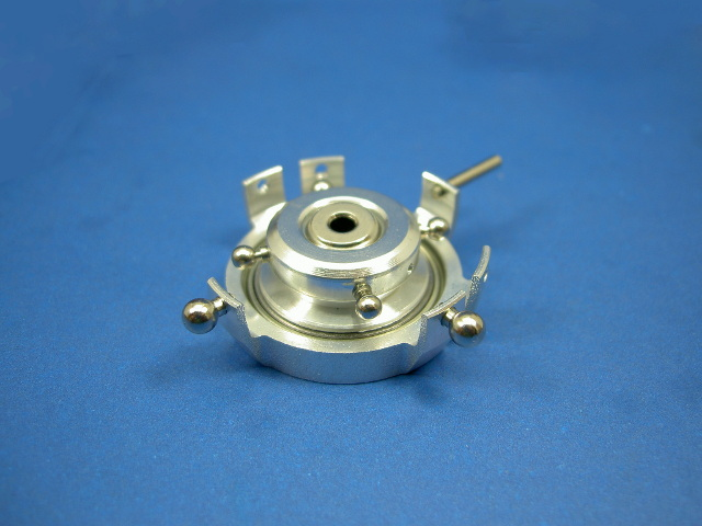 GS3-6204 CNC Swashplate (Silver 3mm)