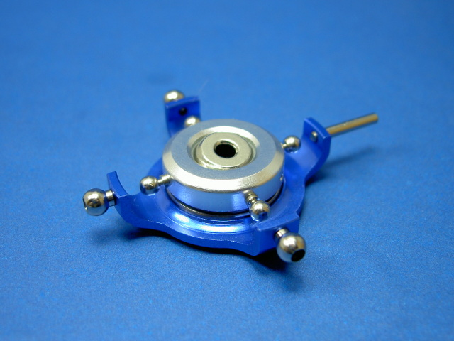 GS3-6205B CNC 90 degree Swashplate (Blue 3mm)