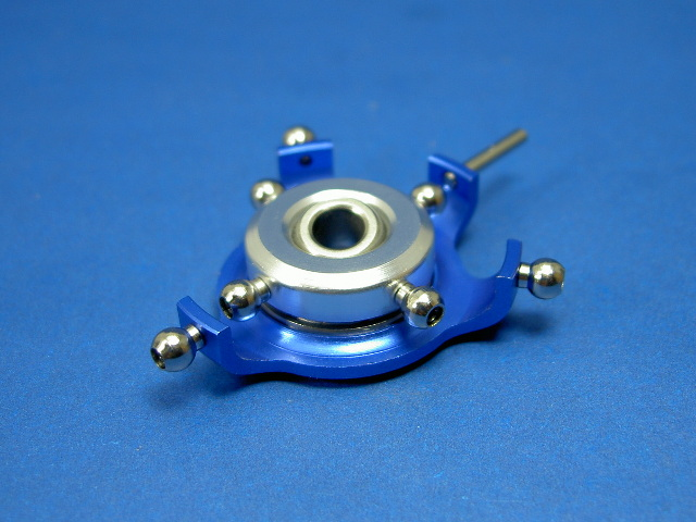 GS3-6206B 120 degree CNC Swashplate (Blue 5mm)